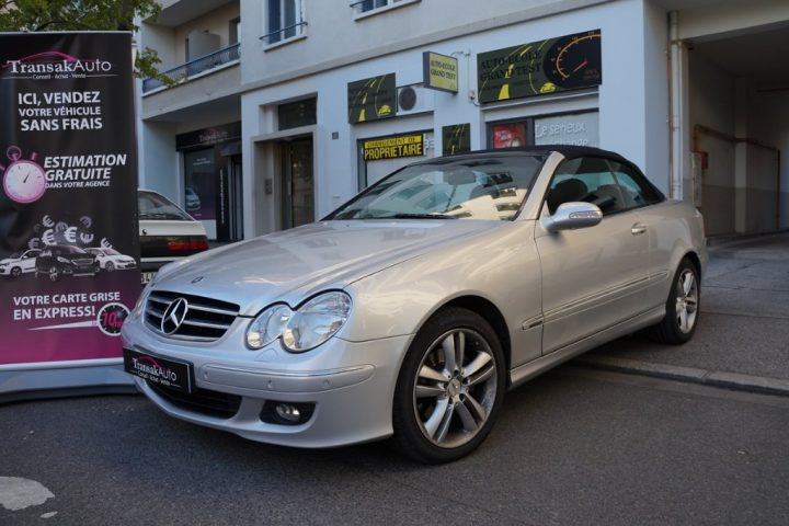 MERCEDES CLASSE CLK CABRIOLET